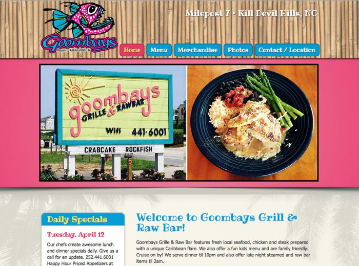 Goombays Grill & Raw Bar