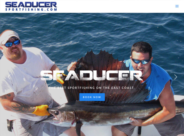 seaducer sport fishing website outer banks internet